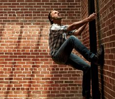 When he scales brick walls. | 56 Situations Where Andrew Lincoln Looks Absolutely Charming