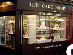 i want built this soon :') The Cake Shop Oxford Cake Shop Design, Bakery Design, Cafe Design, Design Design, Cake Shop Interior, Shop Interior Design, Pastry Shop Interior, Baking Business, Cake Business