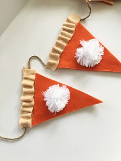 Pumpkin Pie Thanksgiving Garland | Less Than Perfect Life of Bliss | home, diy, travel, parties, family, faith