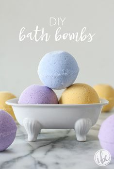 DIY Bath Bombs | inspiredbycharm.com