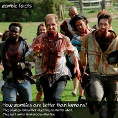 Zombie Facts #3 by GreyZombie.com