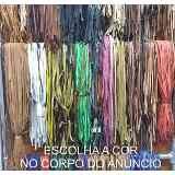 (1) Tira Couro Legítimo 10un - Cordão Fita Preto Marrom Verde - R$ 107,00 em Mercado Livre