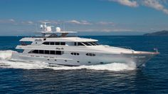 The 42.1 metre motor yacht Penny Mae, jointly listed for sale by Burgess and Galati Yacht Sales, has had a $550,000 price reduction