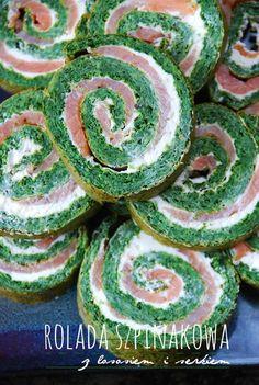 rolada szpinakowa Polish Recipes, Polish Food, Antipasto, Cucumber, Tapas, Watermelon, Food And Drink, Appetizers, Easter