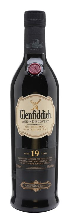 GLENFIDDICH 19 YEAR OLD Age Of Discovery Bourbon, Speyside