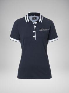 Polo Shirt Design, Womens Golf Shirts, Camisa Polo, Yoga Wear, Ladies Golf, School Uniform, Sportswear, Shirt Designs, Casual Outfits