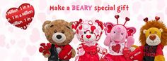 Valentine's Hello Kitty Build A Bear Workshop #sharebabwwishes