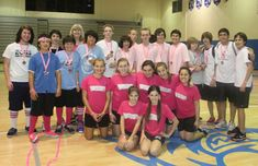 Dodgeball tournament fundraiser for breast cancer programs, is open to middle school and high school students.