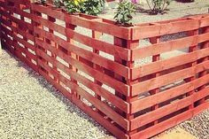 Wood Pallet Fence. Check out 10 of the best pallet fence ideas from around the web. After seeing how awesome these are I am sure you will be making one too.