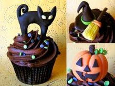 Scary Halloween Cupcakes | from sweet to scary halloween cupcakes