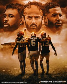 Cleveland Browns Wallpaper, Cleveland Browns History, Cleveland Browns Football, Beckham Football, Nfl Football Teams, Best Football Players, Go Browns, Browns Fans, Odell Beckham Jr Wallpapers
