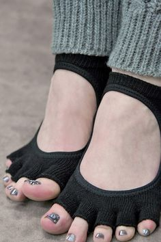 ToeSox Bella Half Toe No-Shows with Grip. Very awesome for those like me who go barefeet all the time