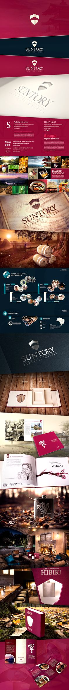 SUNTORY WHISKY | Branding | Confira meu projeto do @Behance: