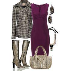Purple sheath
