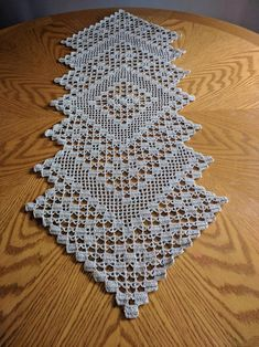 C2c Crochet, Crochet Doilies, Handmade Silver, Handmade Items, Unique Gifts, Great Gifts, Crochet Table Runner, Metallic Thread, Table Runners