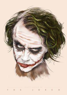 JOKER ILLUSTRATION https://www.behance.net/gallery/33640673/Villains-of-Film
