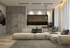 Ознакомьтесь с этим проектом @Behance: «Modern flat in Moscow» https://www.behance.net/gallery/58720415/Modern-flat-in-Moscow