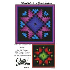 pinwheel quilt gatherings | twister sparkler quilt pattern patterns quilts bedrunners