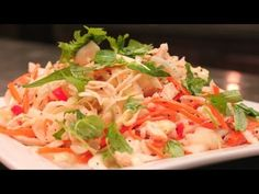 Vietnamese Chicken Salad - Goi Ga - YouTube