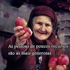 As pessoas de poucos recursos são as mais generosas