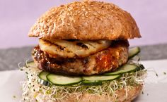 Teriyaki Turkey Burger Patties (g-free: make with crushed rice crackers instead of breadcrumbs) Epicure Recipes, Healthy Recipes, Easy Recipes, Turkey Burgers, Yummy Eats, International Recipes, Turkey Recipes, Quick Easy Meals, Summer Recipes