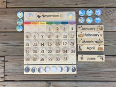 PREORDERING for the Wooden Perpetual Calendar is now available!! Purchasing will reserve your spot in line, once production begins we will ship in