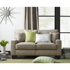 "Found it at AllModern - Serta® RTA Palisades 61"" Loveseat"