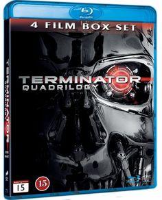 Terminator: Box 1-4 (4 disc) (Blu-ray) (Blu-ray)