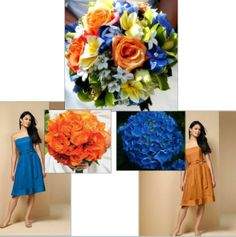 attendants flowers adding TOO MUCH color? « Weddingbee Boards