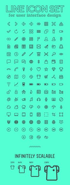 Beautiful Line Icon Set for UI Design Icon Design, Web Design, Logo Design, Flat Design, Vector Icons, Vector Free, Vector Graphics, Mobile Icon, Ui Design Inspiration