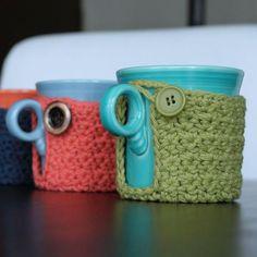 Coffee cup cozy. Super simple!