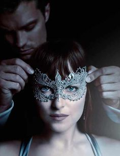 official trailer for Fifty Shades of Grey 2 - 50 Shades Darker - In Cinemas February featuring Dakota Johnson & Jamie Dornan Jamie Dornan and Dakota John. Fifty Shades Of Darker, Fifty Shades Darker Soundtrack, Fifty Shades Trilogy, Ana Steele, Zayn And Taylor Swift, Nick Jonas, Christian Grey, Jamie Dornan, Fifty Shades Darker