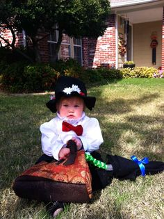 Widdle Mary Poppins. {Cool Homemade Costumes!} – Modern Kiddo