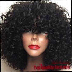 45.00$  Watch here - http://alifdk.worldwells.pw/go.php?t=32457028494 - Cheap New Fashion Fiber Kinky Curly Wigs Synthetic Lace Front Wigs Black Braided Wigs Heat Resistant Synthetic Hair Wigs 45.00$