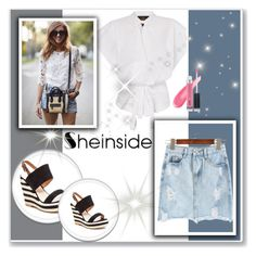 """""""Sheinside contest"""" by ramiza-rotic ❤ liked on Polyvore featuring French Blu"""