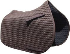 Mocca Chocolate Brown Saddle Pad - All Purpose Style picture