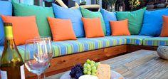 Sunbrella Outdoor Fabrics - Awnings, Umbrellas & Marine Tops