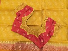 Embroidery blouse works, Blouse Designing Service & Patch Work Designing Services Manufacturer offered by Lakmi Tailors & embroidery from Coimbatore, Tamil Nadu, India Cutwork Blouse Designs, Patch Work Blouse Designs, Pattu Saree Blouse Designs, Simple Blouse Designs, Stylish Blouse Design, Bridal Blouse Designs, Blouse Neck Designs, Blouse Designs Catalogue, Sumo