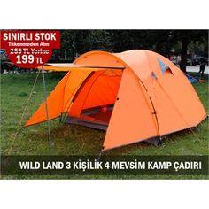 WILD LAND WILDNEST300 3 KİŞİLİK 4 MEVSİM KAMP ÇADIRI #kampmalzemeleri #cadirlar #wildland