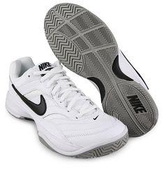 3f3763ac6ecb Nike Court Lite Men s Tennis Shoes White Racket Racquet Casual NWT 845021- 100  Nike