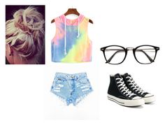 """""""lookin at me?"""" by emily-wells919 on Polyvore featuring Converse"""