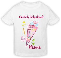 Schulanfang T-Shirt tolle Geschenkidee für ABC-Schützen!/Schultüte Mädchen: Amazon.de: Küche & Haushalt