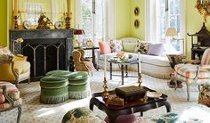 Chairish Blog - Home, Interior, and Furniture Design Blog by Chairish Vintage Furniture, Furniture Design, Foyer Flooring, North Carolina Homes, Upper East Side, Step Inside, House Tours, Beautiful Homes, Dining Room