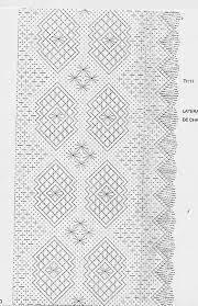 Resultado de imagen para picados de bolillos para chales