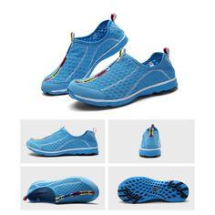 Blau Malha Wasser Schuhe