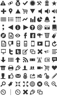 Modern Pictograms pssst there is a camera icon in there :)