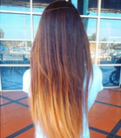 """""""Straight Ombre Hair"""" Im getting this done!!!"""