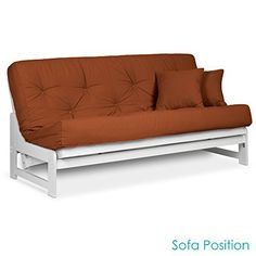 The Armless Arden Futon Frame Is Your Solution To Smaller Es In Search Of A Sofa