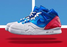 The Nike Air Tech Challenge II US Open launches tomorrow at 9am BST. Visit www.thesolesupplier.co.uk to check stockists. #airmax #airmaxs #usopen #agassi #airtech #airforce #huarache #huaraches #huarachegang #huarachecentral