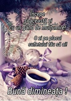 Anul Nou, Good Morning, Tea, Motivation, Coffee, 1 Decembrie, Risotto, Christmas, Bom Dia